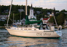 Sailing the magnificent waters around Mackinac Island